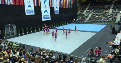 Tri naslovi evropskih prvakov v cheerleadingu in cheer plesu za Slovenijo!