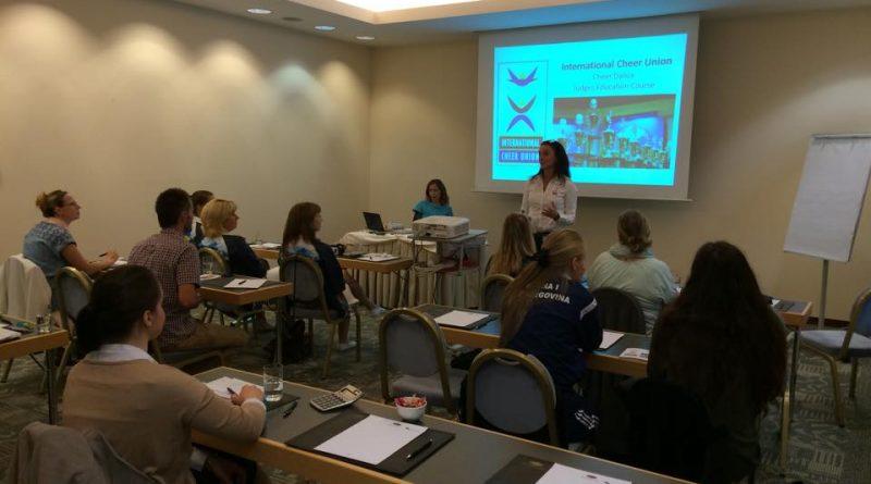 Licenčni seminar za strokovne delavce v cheerleadingu in cheer plesu
