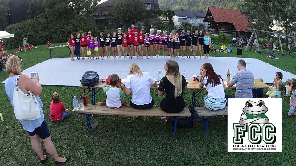 Frogs Cheer Challenge 2017 - memorial Mili Gerbec @ Športni park Log (Log pri Brezovici) | Vrhnika | Slovenija