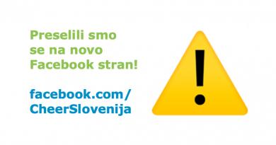 Nova Facebook stran