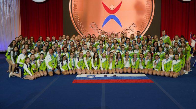 VIDEO: Slovenija na ICU svetovnem prvenstvu v cheerleadingu 2019