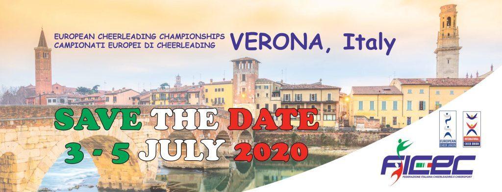 ECU evropsko prvenstvo 2020 @ Verona (Italija)