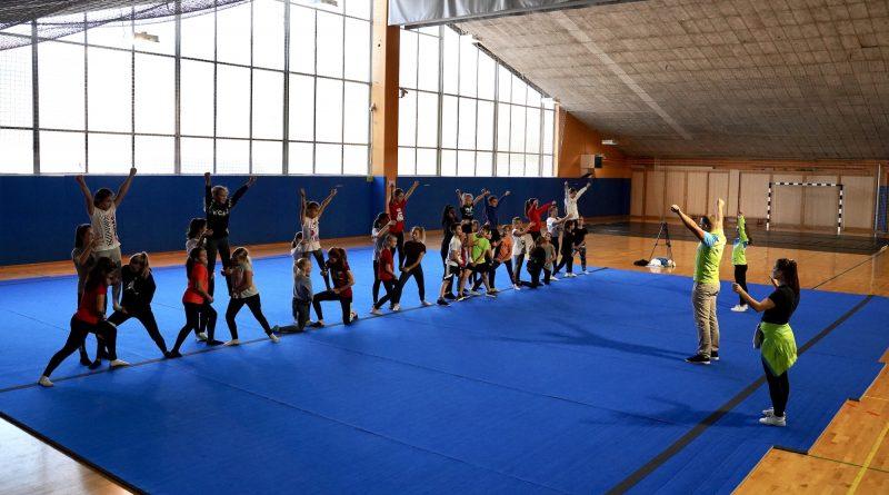 Brezplačna cheerleading delavnica v Kopru