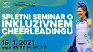 Spletni seminar o inkluzivnem cheerleadingu @ Aplikacija Zoom (spletna izvedba)